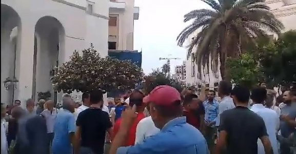 Protesters take to the streets in Tripoli over deteriorating living conditions