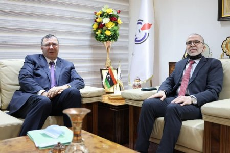 Sanallah reviews expanding cooperation with French TOTAL