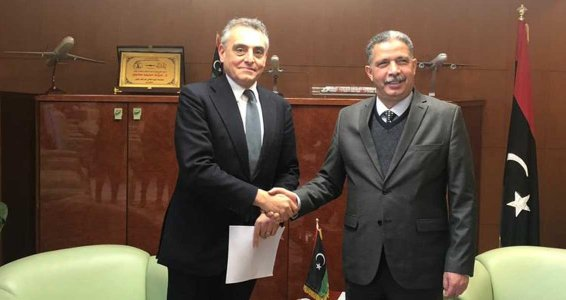 Italy's ambassador to Libya demands serious security measures for roadwork by Italian firm