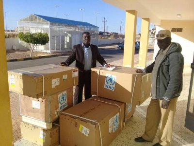WHO sends medical aid to Derna