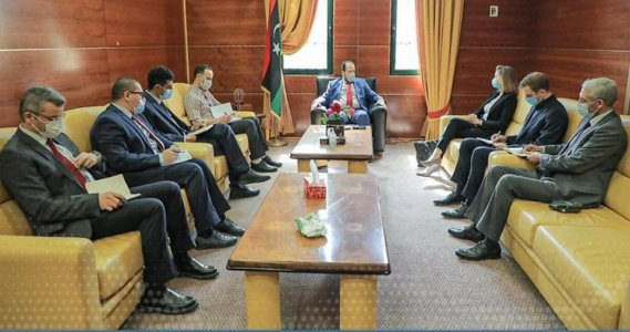 Libya's Health Ministry discusses cooperation with the UK