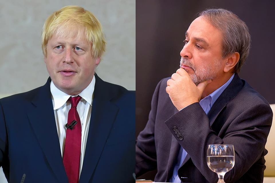 Boris Johnson Urges Al Sweihli To Pursue Political Agreement
