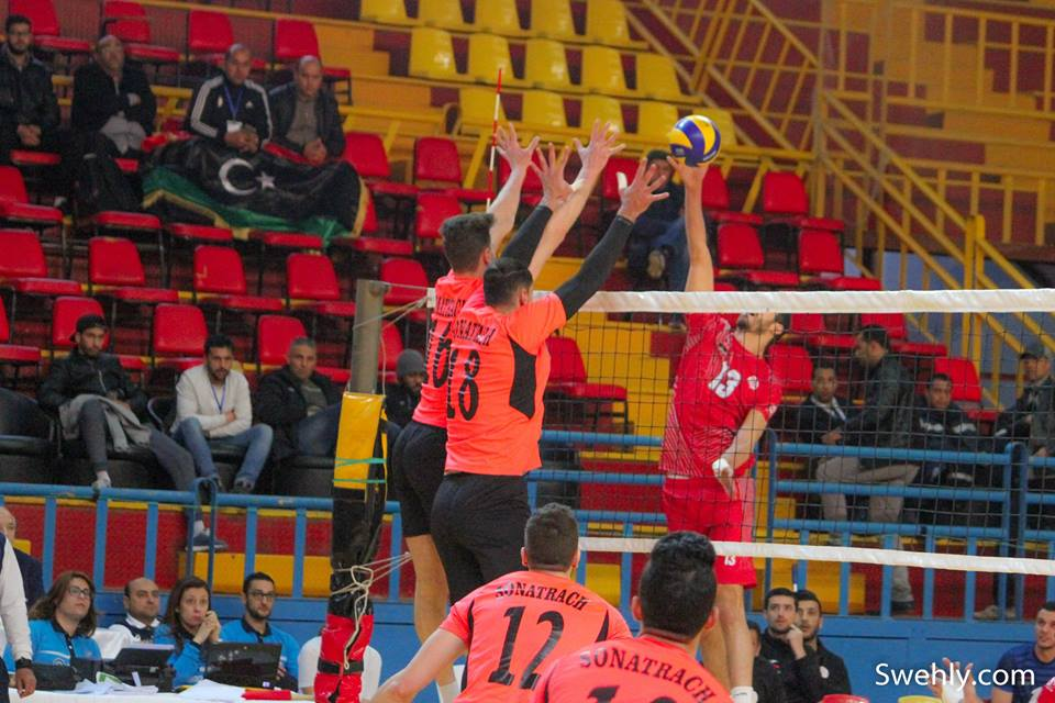 Sewehli volleyball club through to semi-finals of African